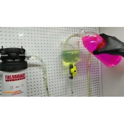 Тест на відділення води сепаратора дизельного палива Stanadyne FM100