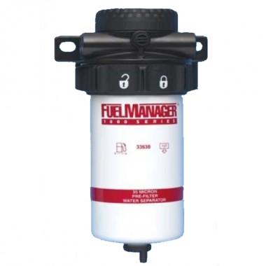 Сепаратор дизельного топлива в сборе Clarcor (Stanadyne) FM1000 (30 микрон)