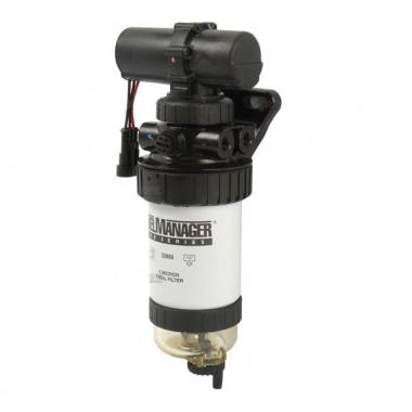 Фильтр-сепаратор Stanadyne Fuel Manager FM100 с электронасосом (5 микрон)