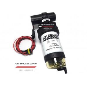 Сепаратор топлива в сборе FM100 с электронасосом и чашей 5 микрон Stanadyne 41775