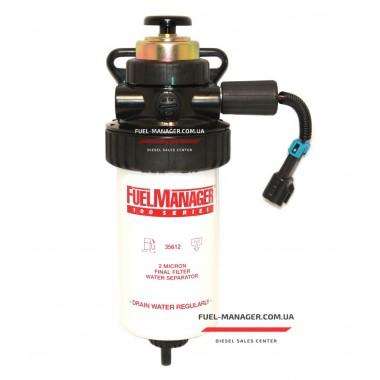Сепаратор дизельного топлива с подогревом и насосом подкачки 2 микрона Fuel Manager