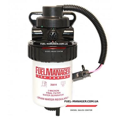 Сепаратор дизельного топлива с подогревом Stanadyne FM100 (2 микрона)