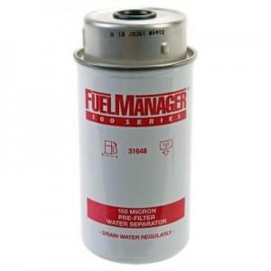 Stanadyne 31648 фильтрующий элемент 150 микрон высотой 6.0 Дюйма / 152.4 мм