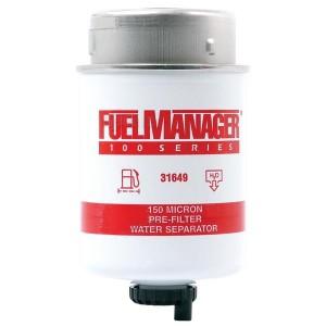 Фильтрующий элемент Clarcor (Stanadyne) 31649 FM100 (150 микрон) 4.3 Дюйма / 109.2 мм