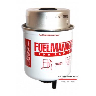 Фильтрующий элемент Stanadyne 31863 FM100, 30 микрон 3.6 Дюйма / 91.4 мм