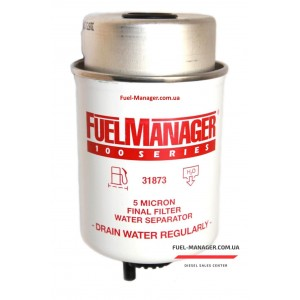 Фильтрующий элемент Stanadyne 31873 FM100 (5 микрон) 4.3 Дюйма / 109.2 мм