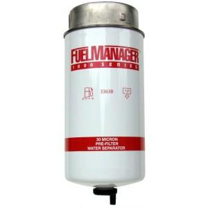 Фильтрующий элемент Stanadyne 33638 FM1000 (30 мкм) 8.0 Дюйма / 203.2 мм