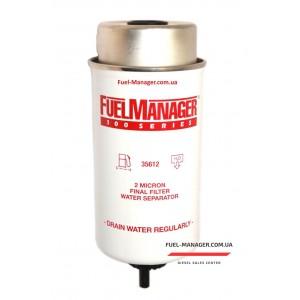 Фильтрующий элемент Clarcor (Stanadyne) 35612 FM100 (2 микрона) 6.0 Дюйма / 152.4 мм