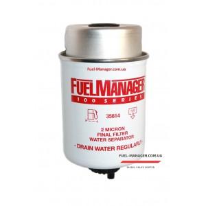 Фильтрующий элемент Stanadyne 35614 FM100 (2 микрона) 4.3 Дюйма / 109.2 мм