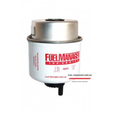 Фильтрующий элемент Stanadyne 36693 FM100, 2 микрона, 2.8 Дюйма / 71.1 мм