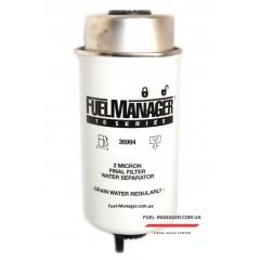Фильтрующий элемент Stanadyne Fuel Manager 36994 FM10, 2 мкм, 152.4 мм