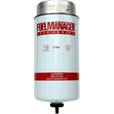 Фильтрующий элемент Stanadyne 37968 FM1000 (10 микрон) 8.0 Дюйма / 203.2 мм