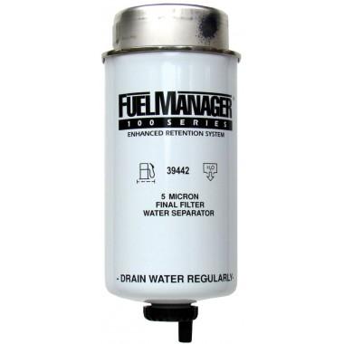 Фильтрующий элемент Fuel Manager 39442 (5 микрон) 6.0 Дюйма / 152.4 мм