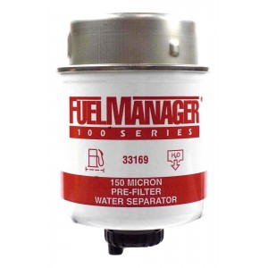 Фильтрующий элемент Stanadyne 33169 FM100 (150 микрон) 3.6 Дюйма / 91.4 мм