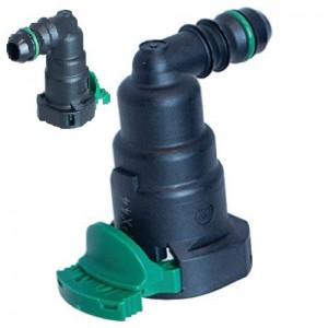 Комплект быстросъемных угловых фитингов для фильтров Racor Snapp RK23319