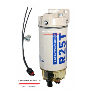 Фильтр сепаратор с подогревом и подкачкой Racor 245R1210MTC 10 микрон