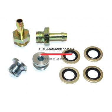 Монтажный комплект проходной для сепараторов Ø8 M14x1.5